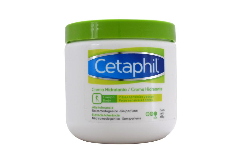 Cetaphil Crema Frasco Con 453 g - Hidratante De Alta Tolerancia