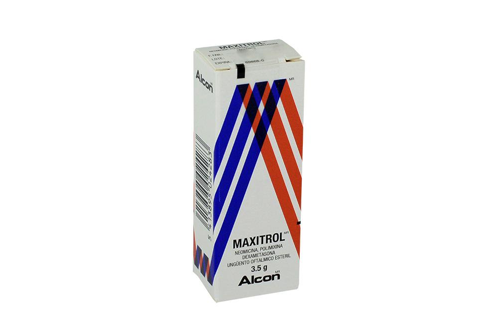 Maxitrol 1 mg / 3500 / 6000 UI Caja Con Tubo Con 3.5 g Rx