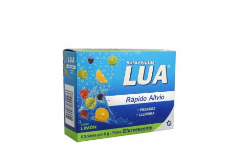 Sal De Frutas Lua Original Caja Con 8 Sobres - Sabor Limón