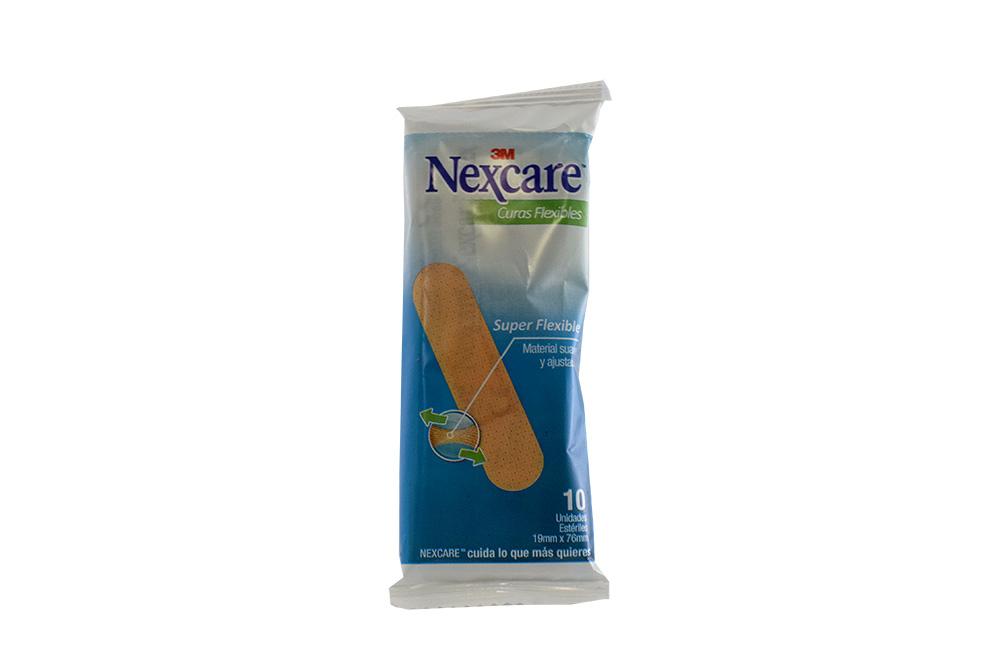 Curas Nexcare Comfort Caja Con 10 Unidades