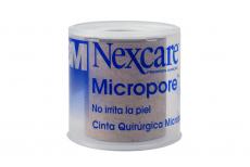 Cinta Quirúrgica Micropore Nexcare 48 Mm X 5 M Empaque Con 1  Unidad - Color Piel