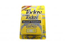 Condones Today Mutual Sensation Caja Con 6 Unidades