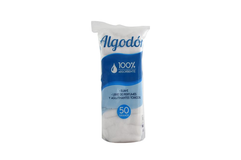 Algodón Higietex Bolsa Con 50 g