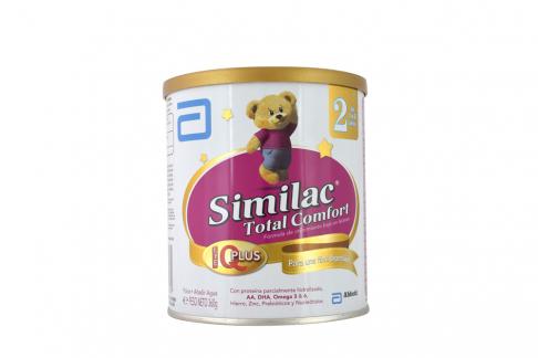 Similac 2 Total Comfort Tarro Con 360 g – De 1 a 3 Años
