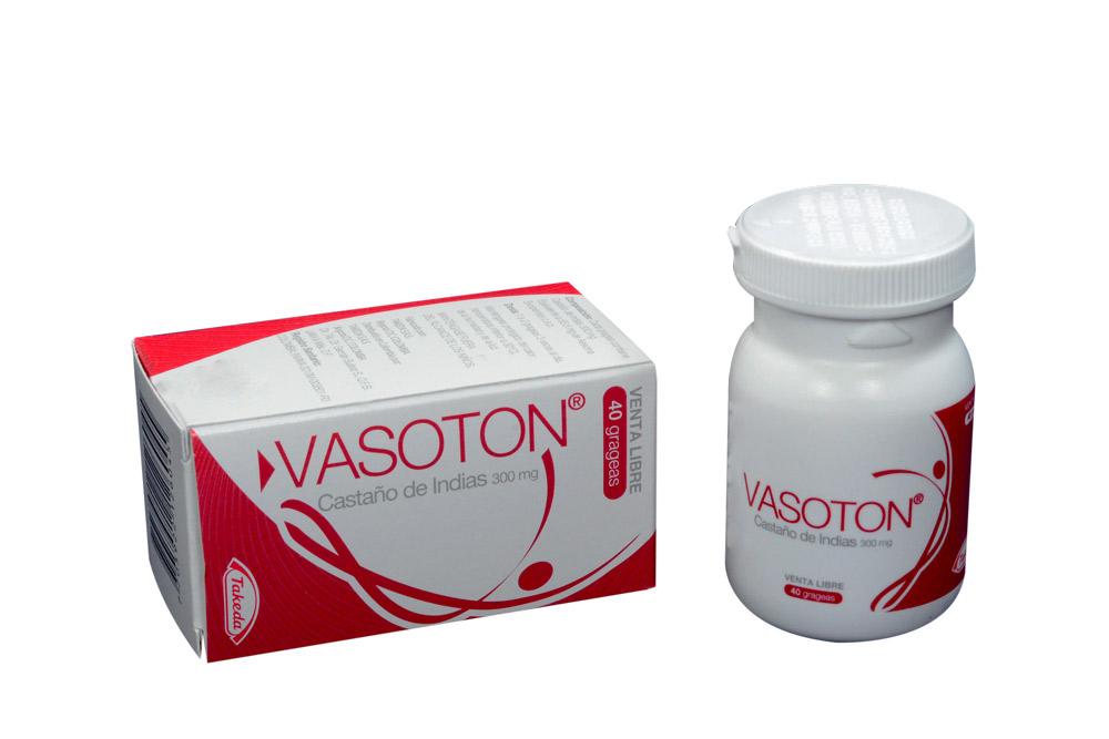 Vasoton 55,5 Mg Frasco Con 40 Tabletas