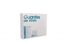 Alfa Safe Guantes De Vinilo Polvoreados Caja Con 24 Unidades