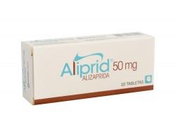 Aliprid 50 mg Caja Con 10 Tabletas Rx