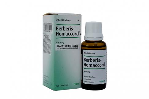 Berbeel Homaccord Gotas Orales Frasco Con 30 mL Rx