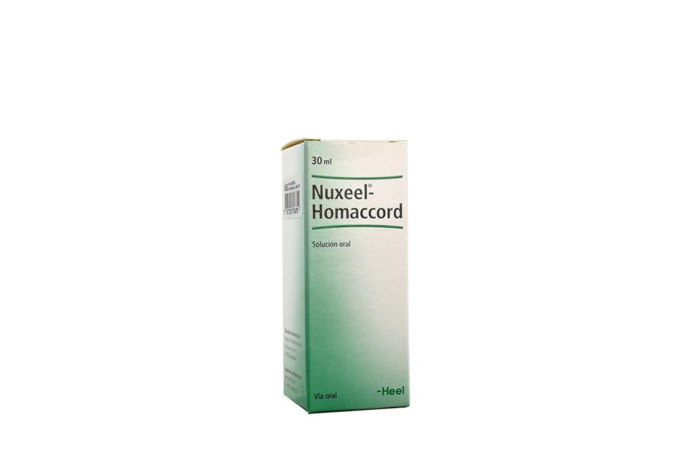 Nuxeel Homaccord Gotas Caja Con Frasco Con 30 mL Rx