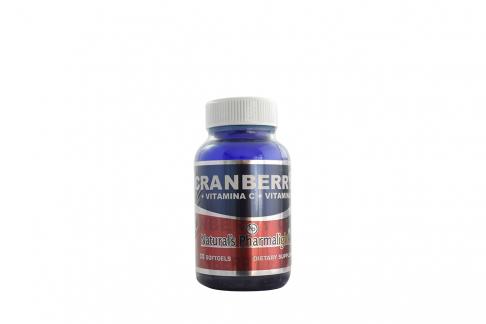 Cranberry Pharmalight Naturals Vitamina C Vitamina E Frasco Con 30 Cápsula De Gelatina