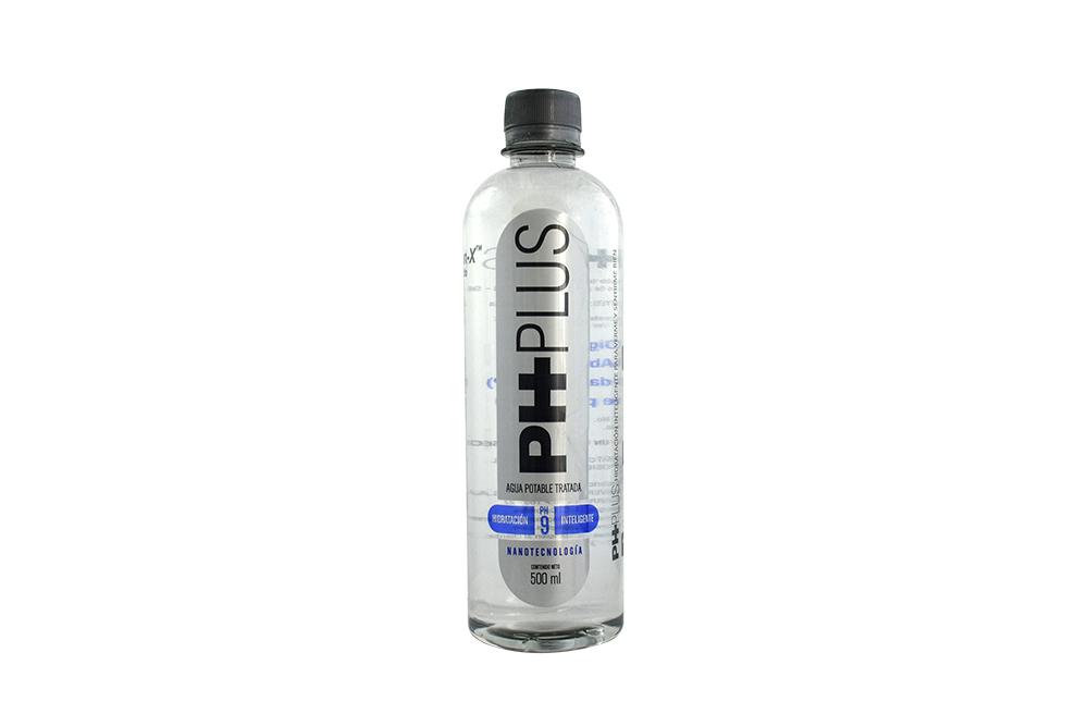 Agua PH Plus 9 Frasco Con 500 mL