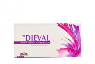 ABL Dieval 2 mg Caja Con 30 Comprimidos Recubiertos Rx
