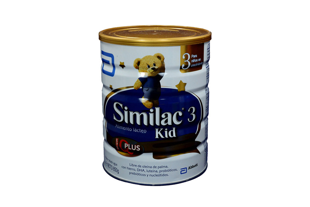 Similac 3 Kid + Dha + Probióticos Tarro con 850 g