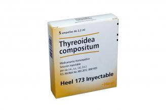 Thyreoidea Compositum Inyectable Caja Con 5 Ampollas Rx