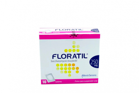 Floratil 250 mg Caja Con 10 Sobres Con Polvo Para Suspensión Oral