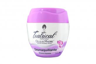 Crema Facial Desmaquillante Teatrical Células Madre Pote Con 100 g