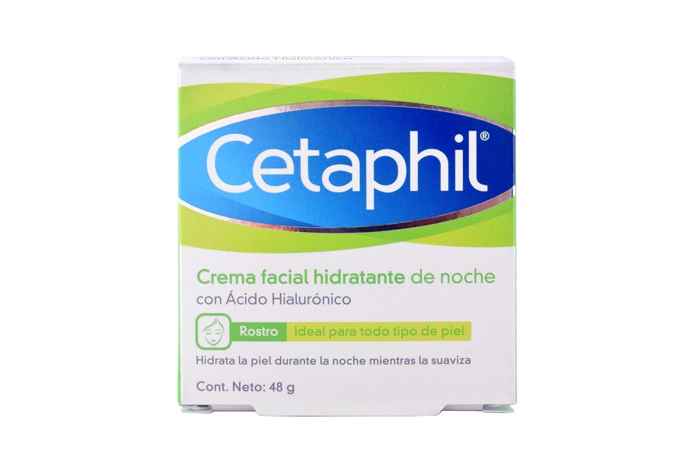 Crema Facial Hidratante De Noche Cetaphil Caja Con Pote Con 48 g