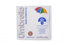Base Compacta Umbrella Spf 50 Caja Con Estuche Con 11 g – Tono Bronceado 5