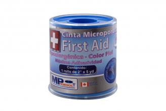 Cinta Autoadhesiva Medical Tape Microporosa  Caja Con 1 Unidad - Color Piel