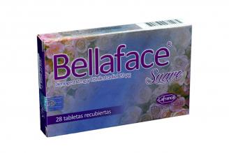 Bellaface Suave 2 mg / 20 mcg Caja Con 28 Tabletas Recubiertas Rx
