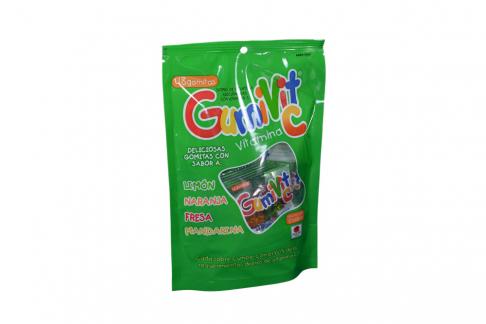Gomas De Gelatina Gumivit Vitamina C Empaque Con 48 Unidades – Sabor Surtido