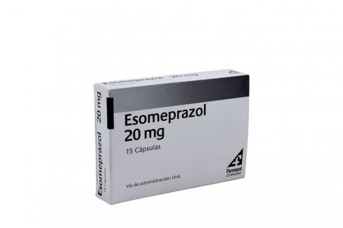 Esomeprazol 20 Mg Caja Con 15 Cápsulas Rx