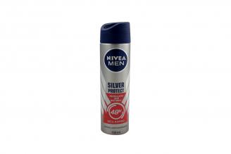 Desodorante Nivea Silver Protect Men Frasco Con 150 mL