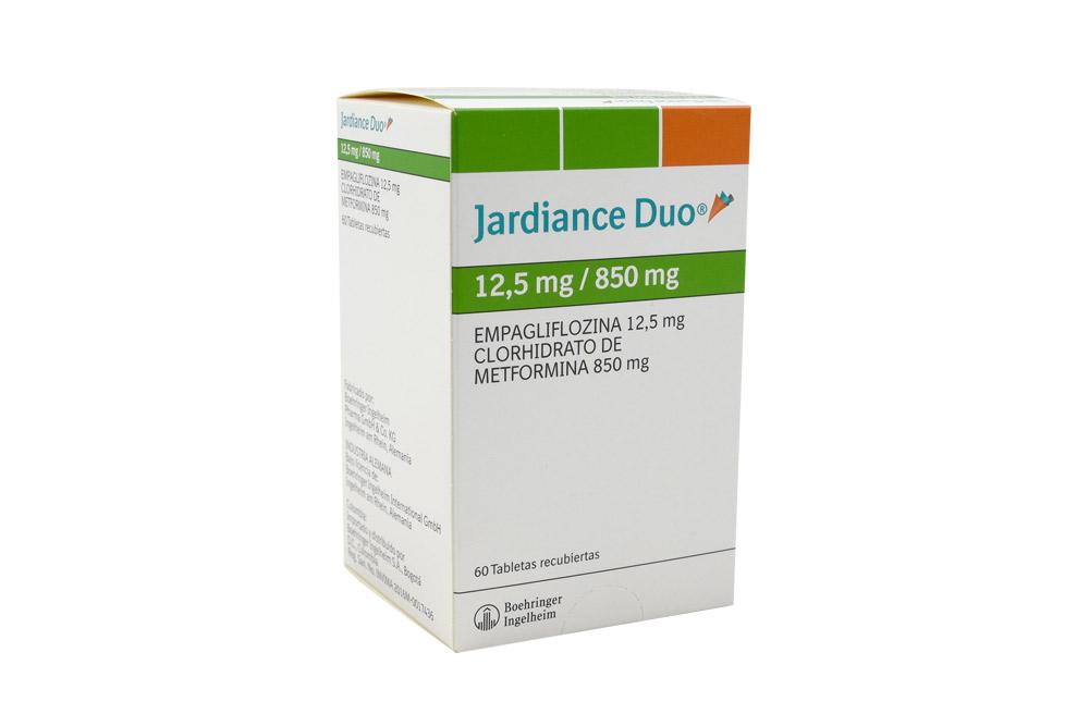 Jardiance Duo 12.5 / 850 mg Caja Con 60 Tabletas Rx