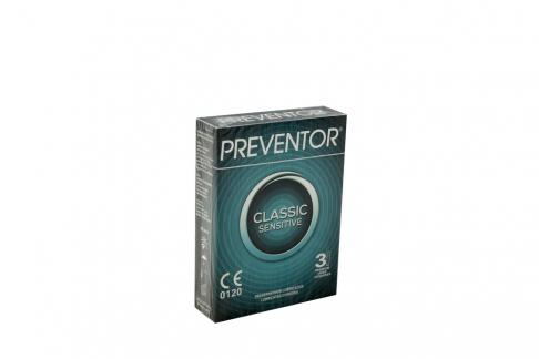 Condón Preventor Remed-Classic X 3 Und