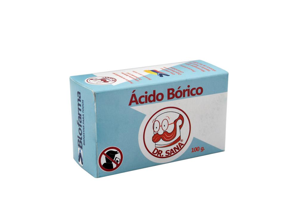 Ácido Bórico Polvo Bolsa Con 100 g