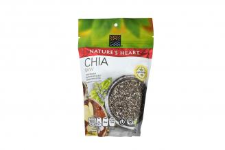 Semillas De Chía Nature's Heart Bolsa Con 250 g