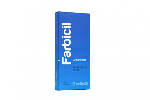 Farbicil 250 mg Caja Con 14 Tabletas Rx Rx2