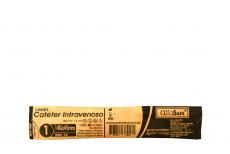 Catéter Intravenoso AlfaSafe 14G X 1 ¾ Empaque Con 1 Unidad