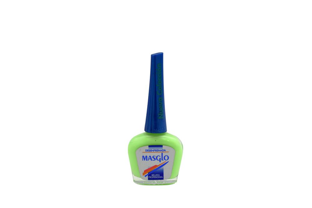 Esmalte Masglo Frasco Con 13.5 mL - Tono Desenfrenada