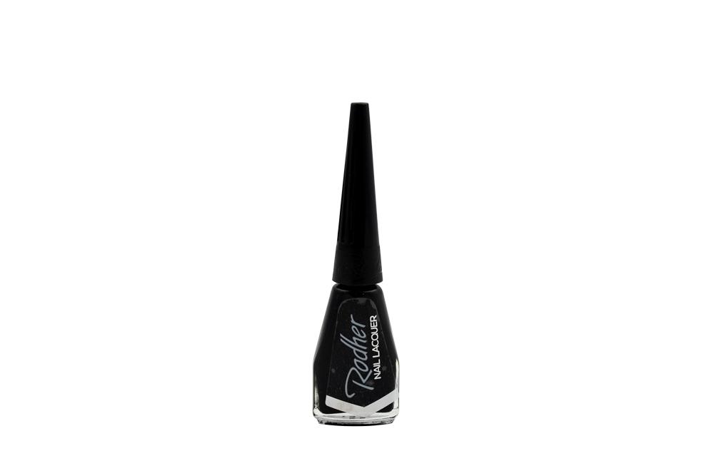 Esmalte Para Uñas Rohder Frasco Con 10 mL - Tono  Negro