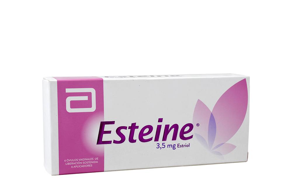 Esteine 3.5 mg Caja Con 6 Óvulos Vaginales RX