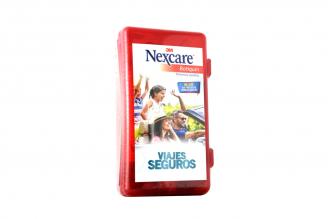 Botiquín Primeros Auxilios 3M Nexcare Viajes Seguros Caja Plástica Con 1 Kit