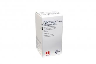 Abraxane 100 mg Polvo Liofilizado Caja Con 1 Vial Con 20 mL Rx Rx4 Rx1