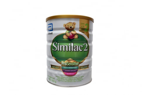 Similac 2 ProSensitive De 6 a 24 Meses Tarro Con 850 g