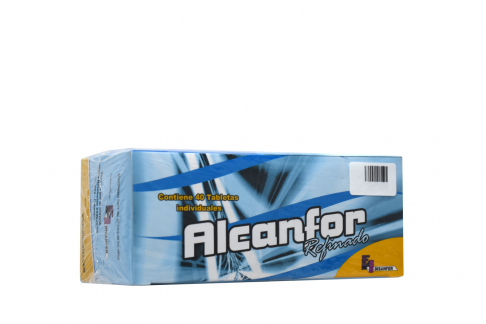 Alcanfor Disanfer Con 40 Tabletas Rx