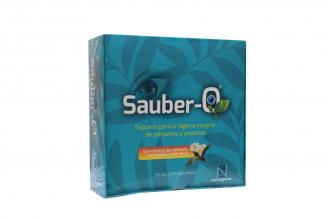 Sauber-O Solución Tópica Caja Con Frasco Con 80 mL