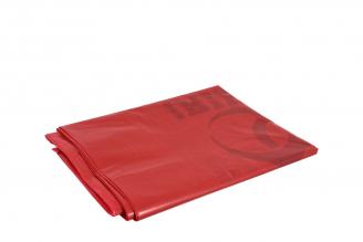 Bolsa Plástica Color Rojo 13 X 24 Empaque Con 5 Unidades