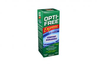 Solución Desinfectante Opti-Free Express Caja Con Frasco Con 355 mL