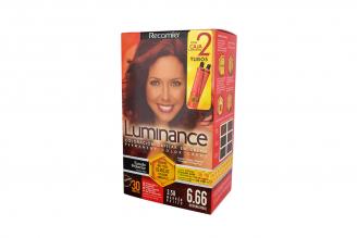 Coloración Capilar En Crema Luminance Tono 3.58 Marrón Rojizo Caja Con 1 Kit
