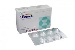 Janumet 50 / 850 mg Caja Con 28 Comprimidos Rx