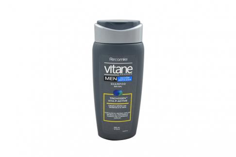 Shampoo Vitane Advance Men Acción Anticaída Frasco Con 200 mL
