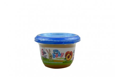 Compota Alpina Baby Durazno Pote Con 113 g