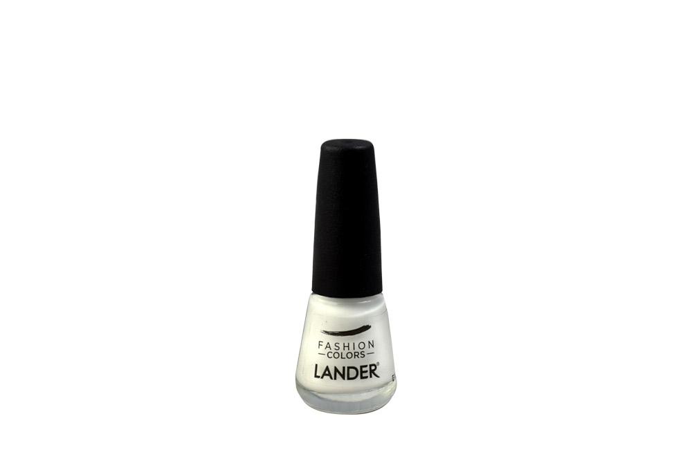Esmalte Lander Tono Blanco 12C Frasco Con 7 mL