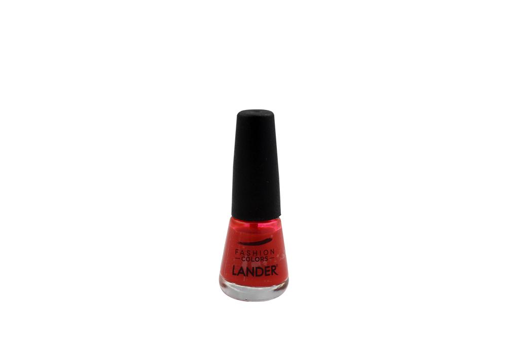 Esmalte Lander Tono Rojo 31C Frasco Con 7 mL
