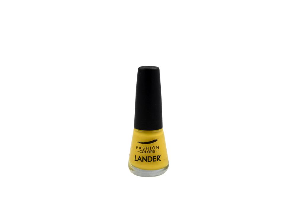 Esmalte Para Uñas Fashion Colors Lander Frasco Con 7 mL - Color Amarillo
